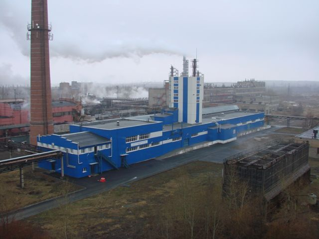 Предприятие по производству проппантов на территории ОАО «Уралхимпласт» г.Нижний Тагил