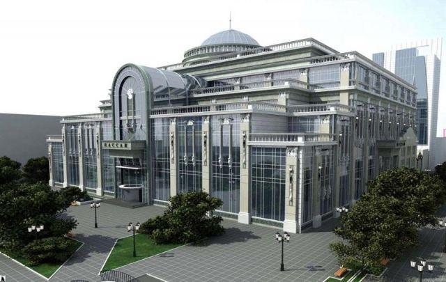 Торгово-развлекательный центр 'Пассаж' по ул.Вайнера, д.9 в г.Екатеринбурге